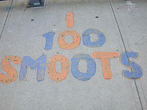 Smoot - The 100 smoot mark