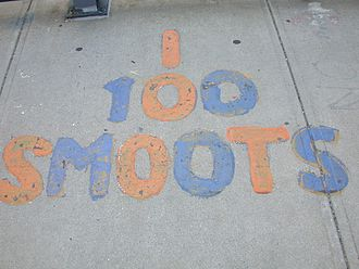 Smoot - The 100 smoot mark