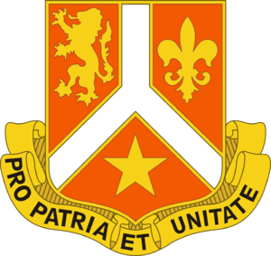 369th Sustainment Brigade (United States) - Image: 101 Sig Bn DUI