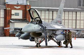 107th Fighter Squadron - 107th Fighter Squadron F-16C