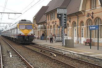 Adinkerke - De Panne station in Adinkerke