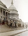125 future WACS take oath on United States Capitol steps, 1943 (36865945893).jpg