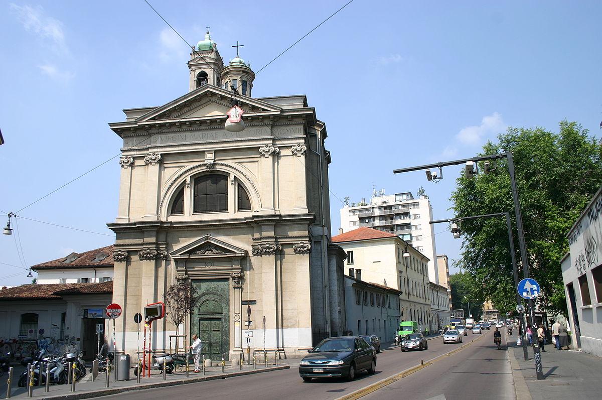 Chiesa Di Santa Maria Della Vittoria Milano Wikipedia