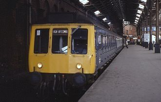 Seer Green rail crash - Class 115 unit at Marylebone