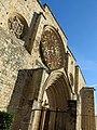 133 Monestir de Sant Cugat del Vallès, façana oest.JPG