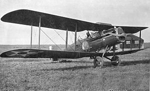 Bristol F.2 Fighter - 13th Squadron (Attack) - Dayton-Wright XB-1A, Kelly Field, Texas, 1921