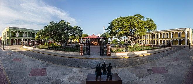 Campeche stadt wikipedia for Jardin botanico xmuch haltun