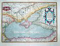 1624 ORTELIUS Map BLACK SEA Roman Era Pontus Euxinus.jpg