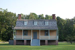 National Register of Historic Places listings in Bertie County, North Carolina - Image: 1763 King Bazemore Exterior