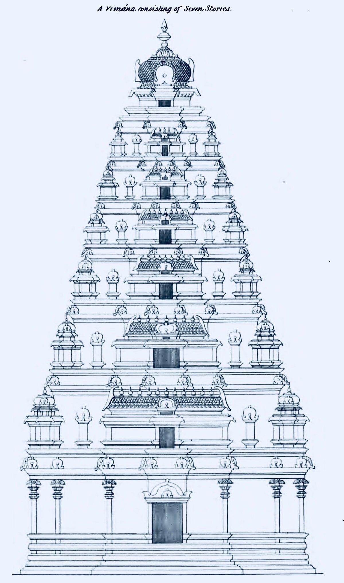 Vimana architectural feature wikipedia Architecture technique