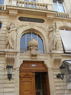 Société de Géographie Geographical society of Paris