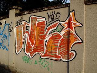 1850 - Milano - Graffiti lungo il Naviglio Grande - Foto Giovanni Dall'Orto, 24-Jun-2008.jpg