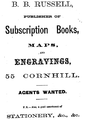 1867 Russell Cornhill ad GuideToBoston Massachusetts.png