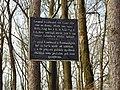187. Svíb – Litinová nápisní deska umístěná v místě obklíčení a opětného vysvobození pruského gpor. von Fransecky, velitele 7. pěší divize.jpg