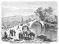 1872-07-16, La Ilustración Española y Americana, Insurrección carlista, Soldados de Luchana custodiando el puente de San Miguel, en Vera.jpg