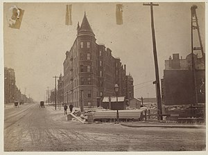 Huntington Avenue - Image: 1889 Huntington Ave Copley Sq 2388386396