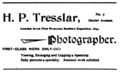 1897 Tresslar photographer advert Montgomery Alabama city directory.png