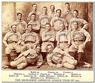 1901 Milwaukee Brewers season - 1901 Milwaukee Brewers