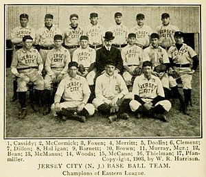 The National Baseball Association's top 100 minor league teams - 1903 Jersey City Skeeters, No. 7