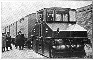 Maudslay Motor Company - 1902 Maudslay Petrol Locomotive