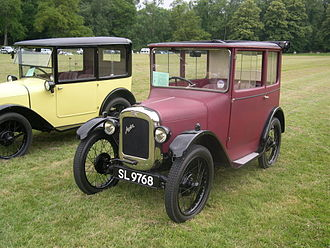 Gordon England (coachbuilder) - Image: 1928 Austin 7 GE Sunshine Saloon 1.1