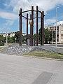 1956-os emlékmű, József Attila utca sarok, 2019 Csorna.jpg