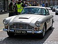 1962 Aston Martin DB4 3670 cc at Horsham English Festival 2018.jpg