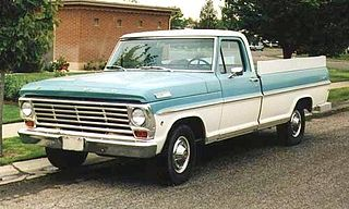 Ford F-Series (fifth generation) Motor vehicle
