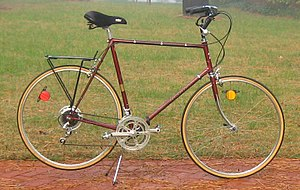 Bike boom - 1977 Nishiki International  Typical 1970s Bike Boom ten-speed road bike.