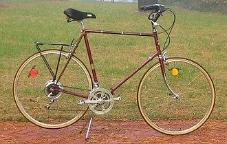 Nishiki (bicycle company) - Image: 1977 Nikishi International