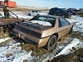 1986 Pontiac Fiero rear (8194410841).jpg