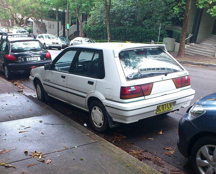 File 1989 1991 Nissan Pulsar N13 S2 Q 5 Door Hatchback