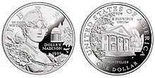 1999 Dolley Madison Proof Dollar.jpg