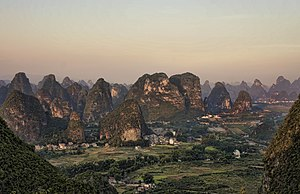 Moon Hill - A view from the top of Moon Hill