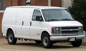 Chevrolet Express - Image: 1st Chevrolet Express 09 27 2010