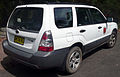 2005-2008 Subaru Forester X wagon, National Parks and Wildlife Service (2008-12-28) 02.jpg