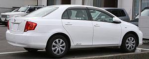 Toyota Corolla (E140) - 2006 Corolla Axio (Japan)