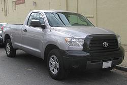 2007-2009 Toyota Tundra regular cab