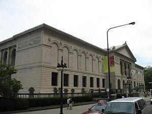Art Institute of Chicago Building - The original Art Institute of Chicago Building facade