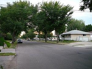 Dovercourt, Edmonton - Dovercourt Avenue.