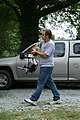2008-09-20 Donnie carries brewing equipment.jpg