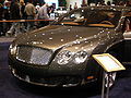2009 gray Bentley Continental GT front.JPG