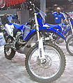 2010 Yamaha WR450F at 2009 Seattle International Motorcycle Show 3.jpg