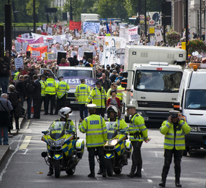 Policing a Protest Rally