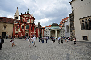 St. George's Square (Prague Castle) - The square in 2011