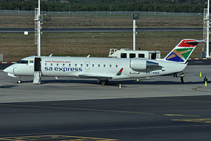 South African Express - SA Express Bombardier CRJ200ER in 2011