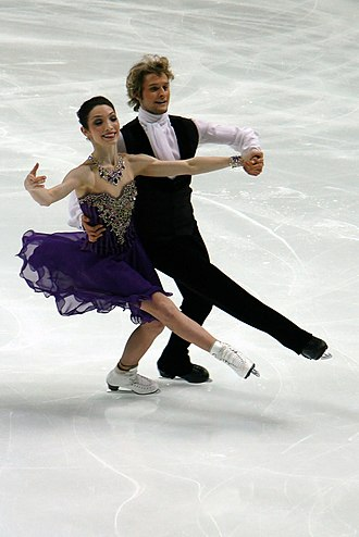Short dance - Meryl Davis and Charlie White perform their short dance at the 2011 World Championships