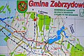 2012 Powiat cieszyński, Zebrzydowice, Mapa turystyczna gminy Zebrzydowice (01).jpg