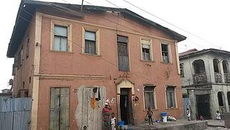 Ebute Metta - A house in Ebute Metta.