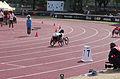 2013 IPC Athletics World Championships - 26072013 - Angela Ballard of Australia during the Women's 400M - T53 first semifinal 17.jpg